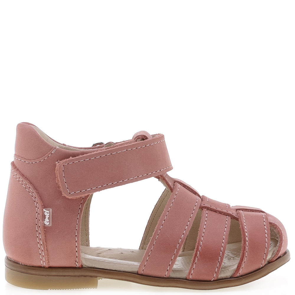 (1093-10) Emel pink closed sandals