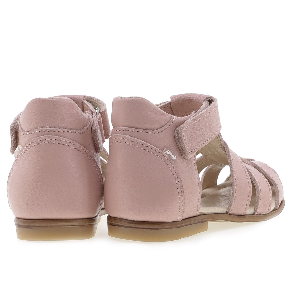 (1093-7) Emel light pink closed sandals - Coming soon!