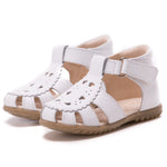 (1214A) Emel white closed sandals - MintMouse (Unicorner Concept Store)