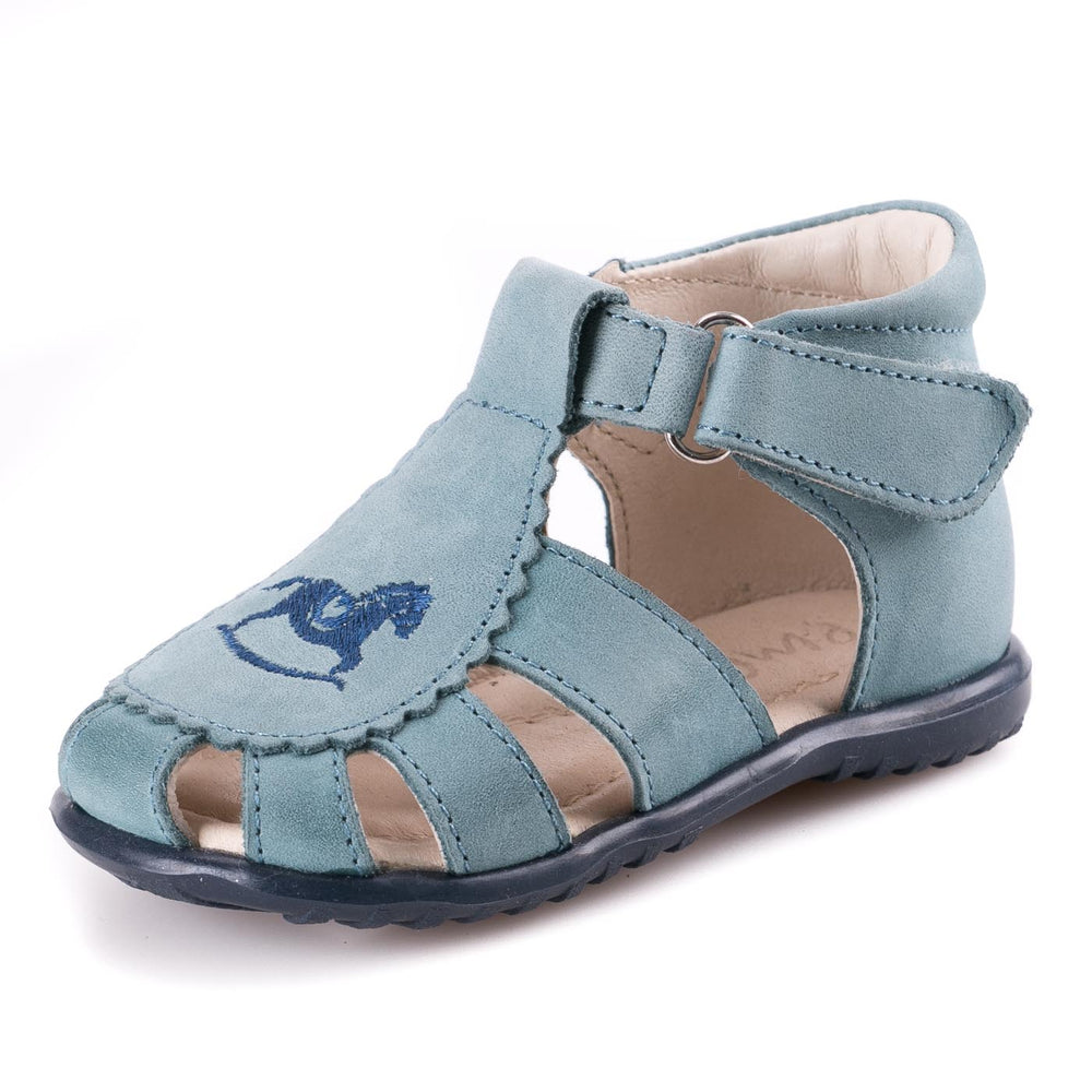 (1670-8) Emel blue closed sandals - MintMouse (Unicorner Concept Store)