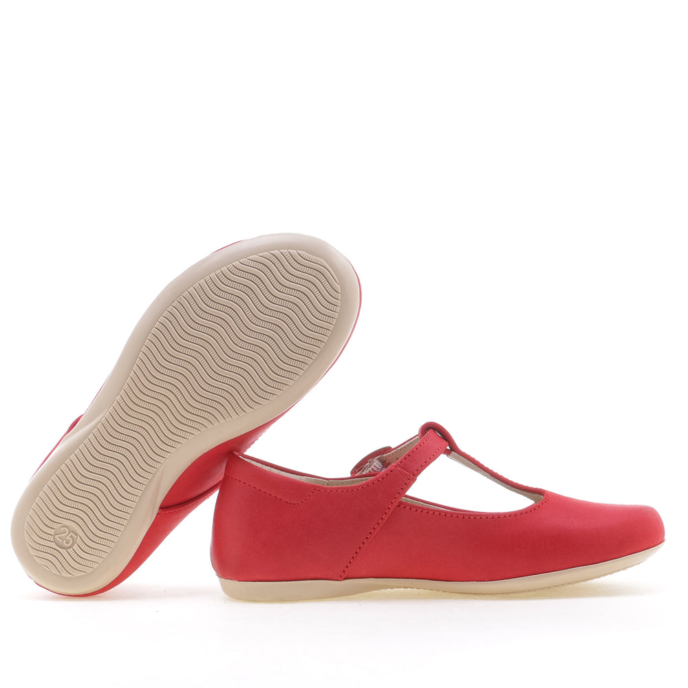 (2057G) Emel t-bar balerina red - Coming soon!