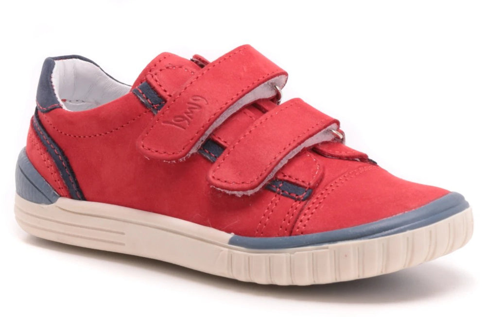 (2066-19) Red low Velcro Trainers - MintMouse (Unicorner Concept Store)