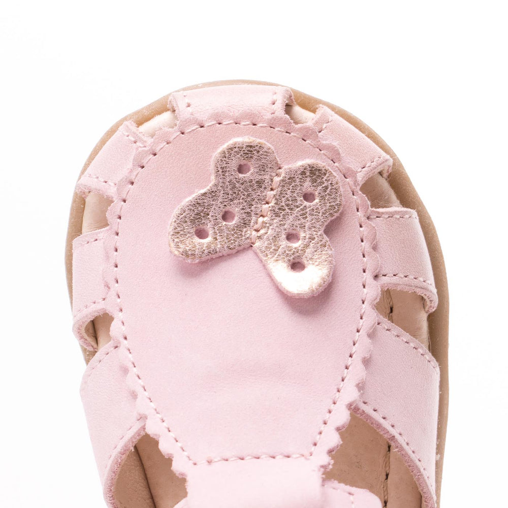 (2183-17) Emel butterfly closed sandals