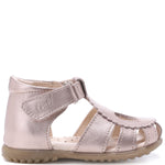 (2183-20) Emel shiny heart closed sandals