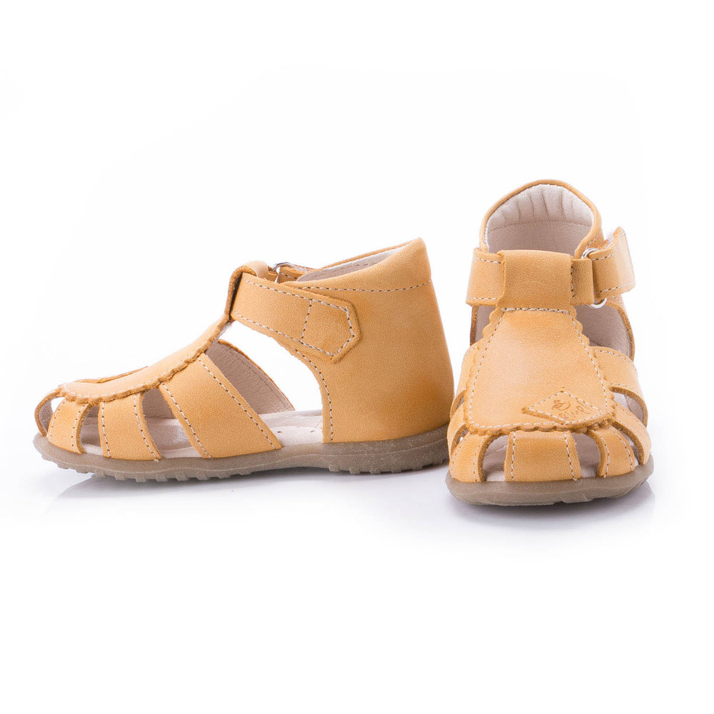 (2206-9) Emel yellow closed sandals - MintMouse (Unicorner Concept Store)