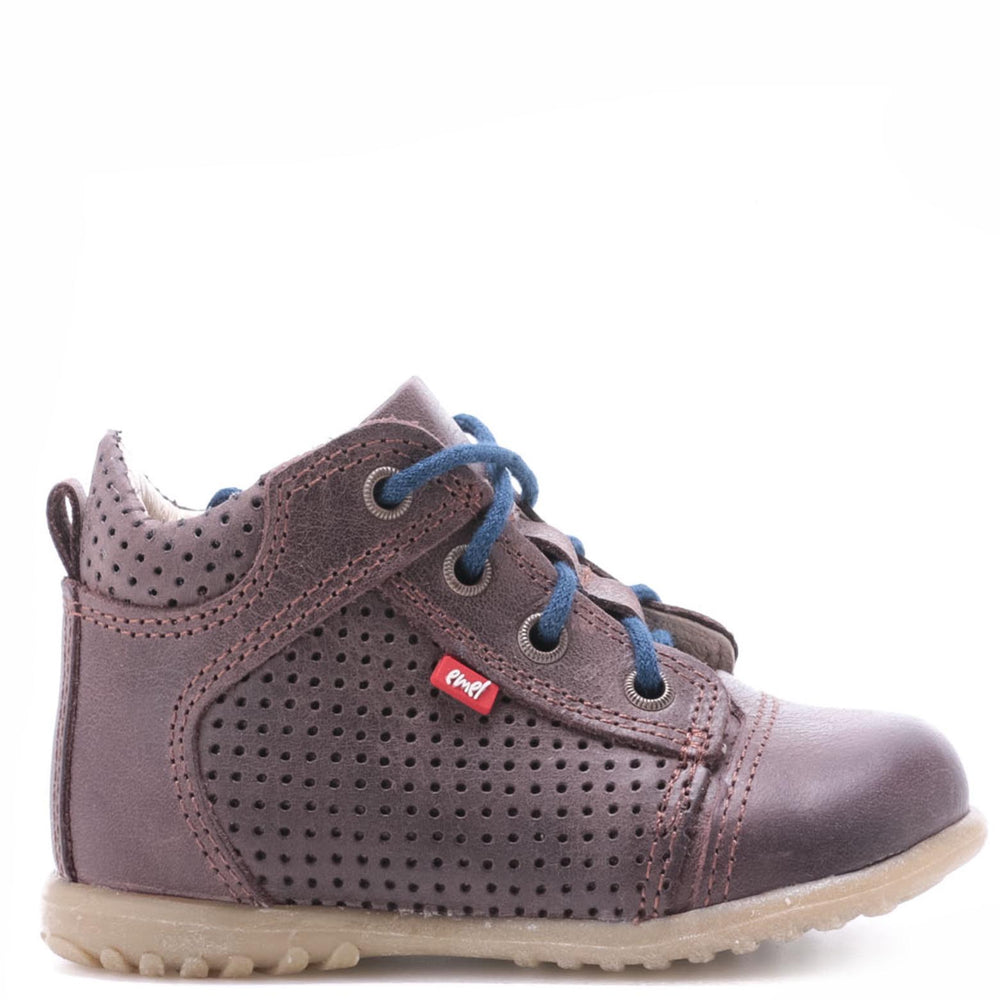 (2429-18) Emel first shoes - dark brown - MintMouse (Unicorner Concept Store)