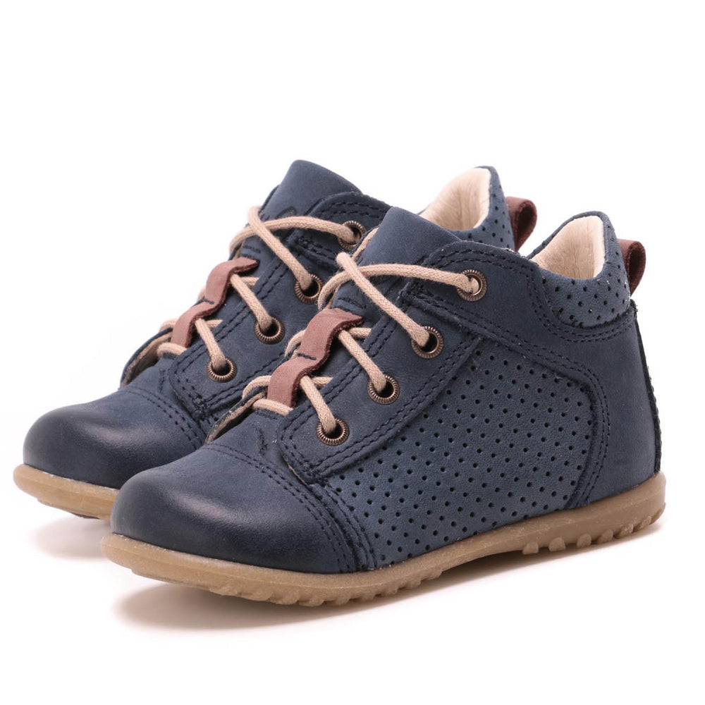 (2429-9) Emel first lace up shoes navy - MintMouse (Unicorner Concept Store)