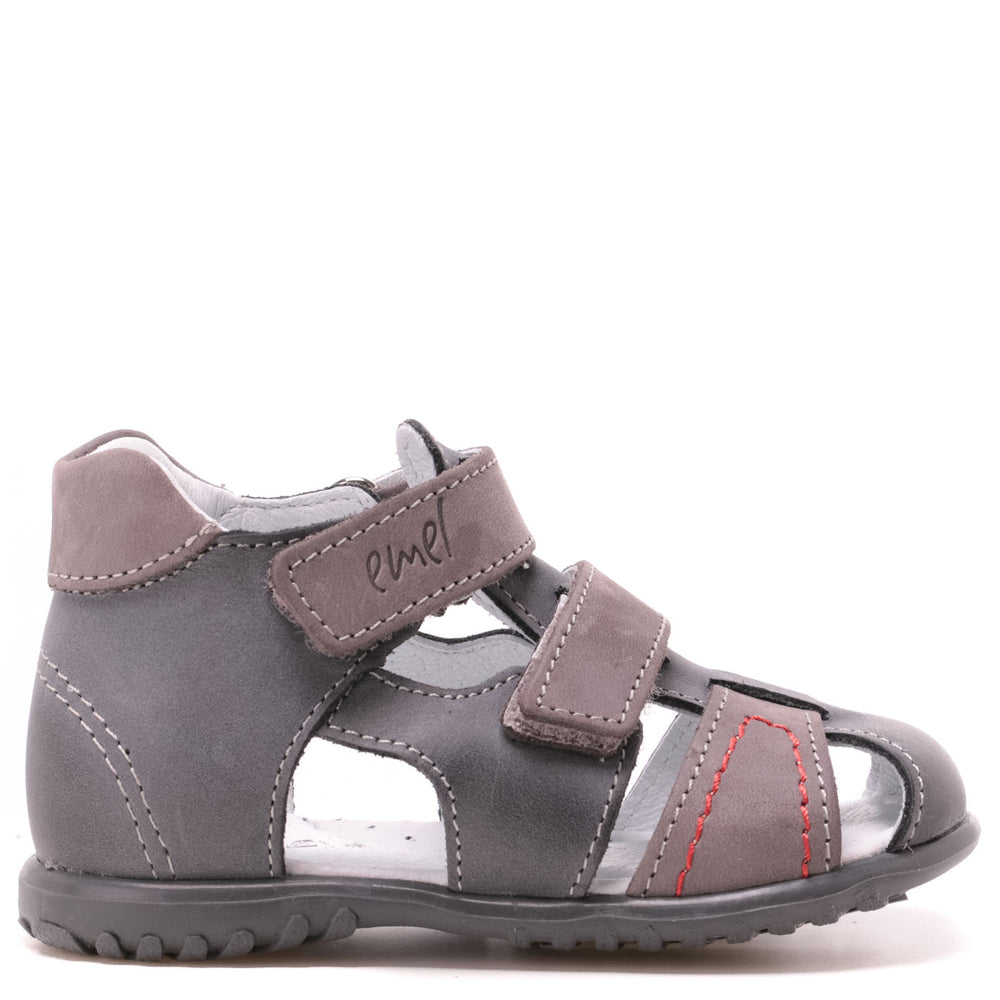 (2437-12) Emel grey closed sandals - MintMouse (Unicorner Concept Store)