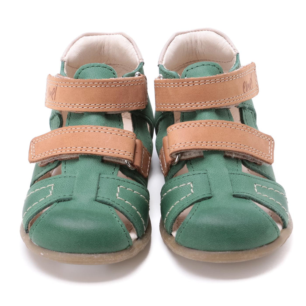 (2437-16) Emel green closed sandals - MintMouse (Unicorner Concept Store)