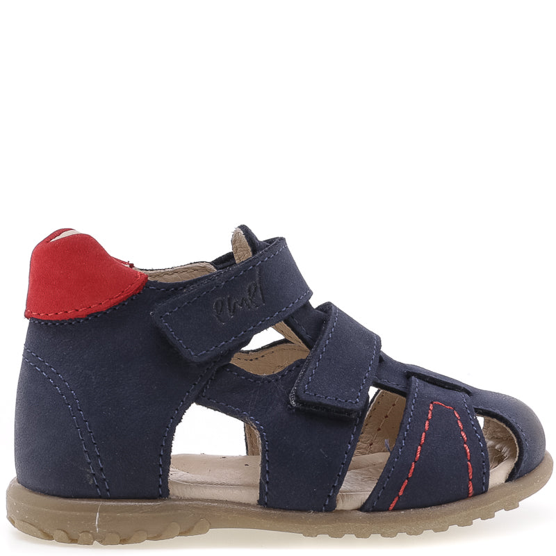 (2437-25) Emel navy closed sandals - MintMouse (Unicorner Concept Store)