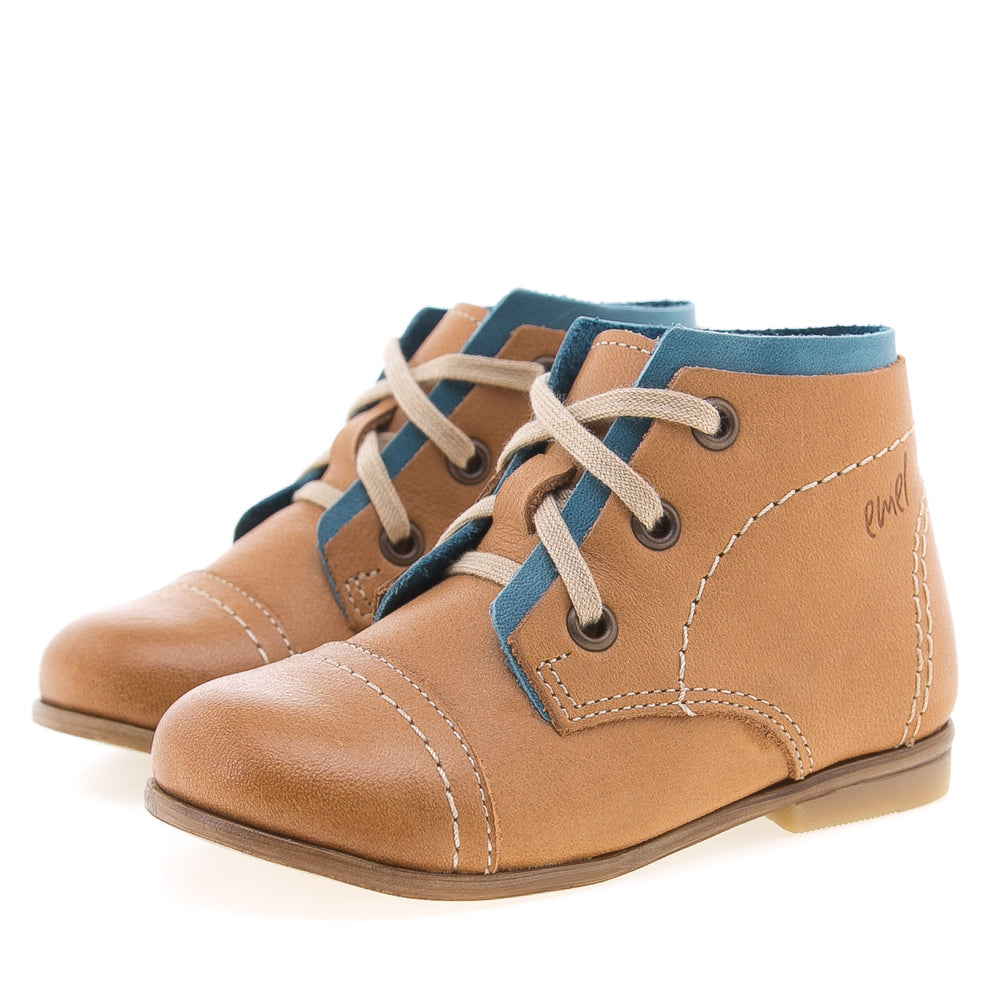 (2438-33) Emel brown first classic shoes - MintMouse (Unicorner Concept Store)