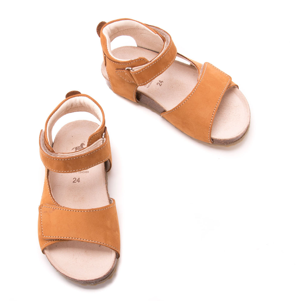 (2508-16/2509-16) Emel  mustard velcro sandals - Coming soon! - MintMouse (Unicorner Concept Store)