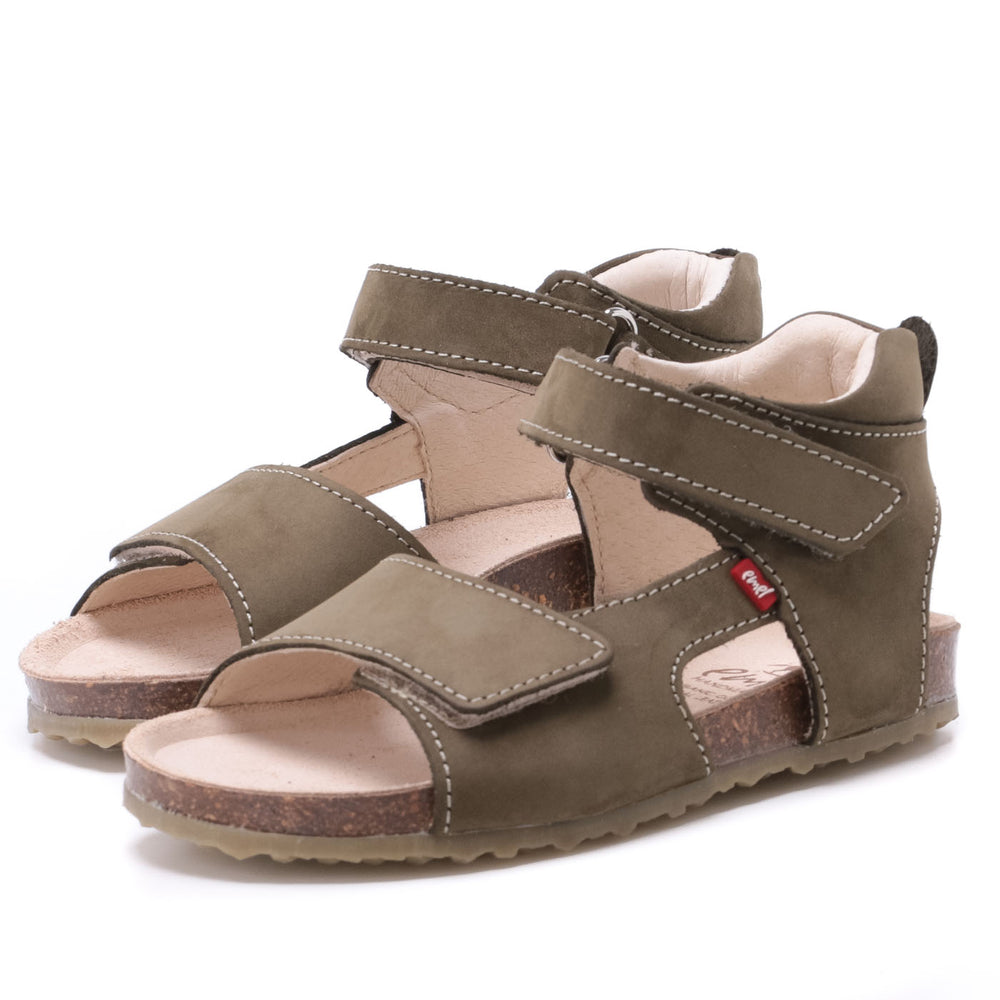 Emel green velcro sandals (2508-18/2509-18) - Coming soon!
