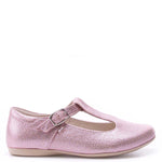 (2572B-3) Emel balerina shoes shiny rose