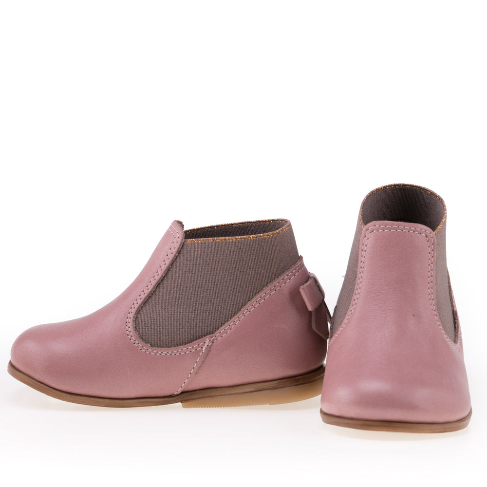 (2593-13) Emel pink ankle boot bow - MintMouse (Unicorner Concept Store)
