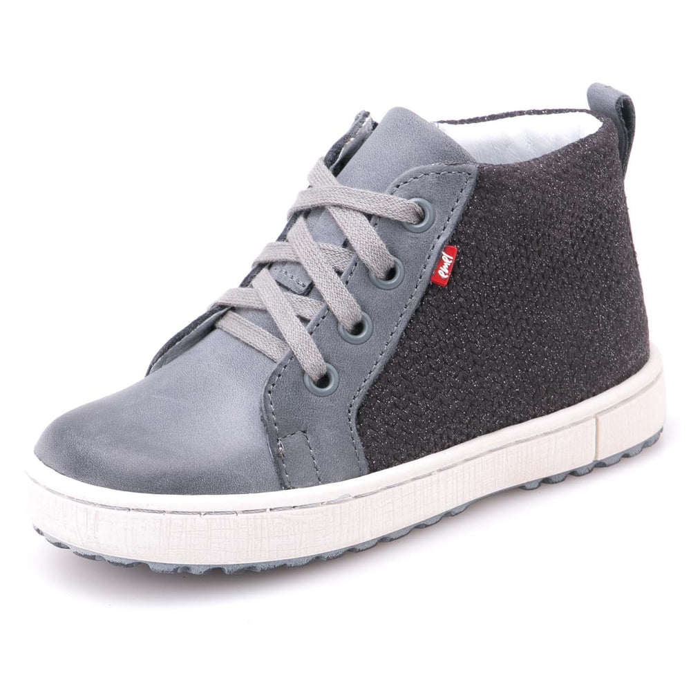 (2624-11) Emel shoes grey sneakers with zipper