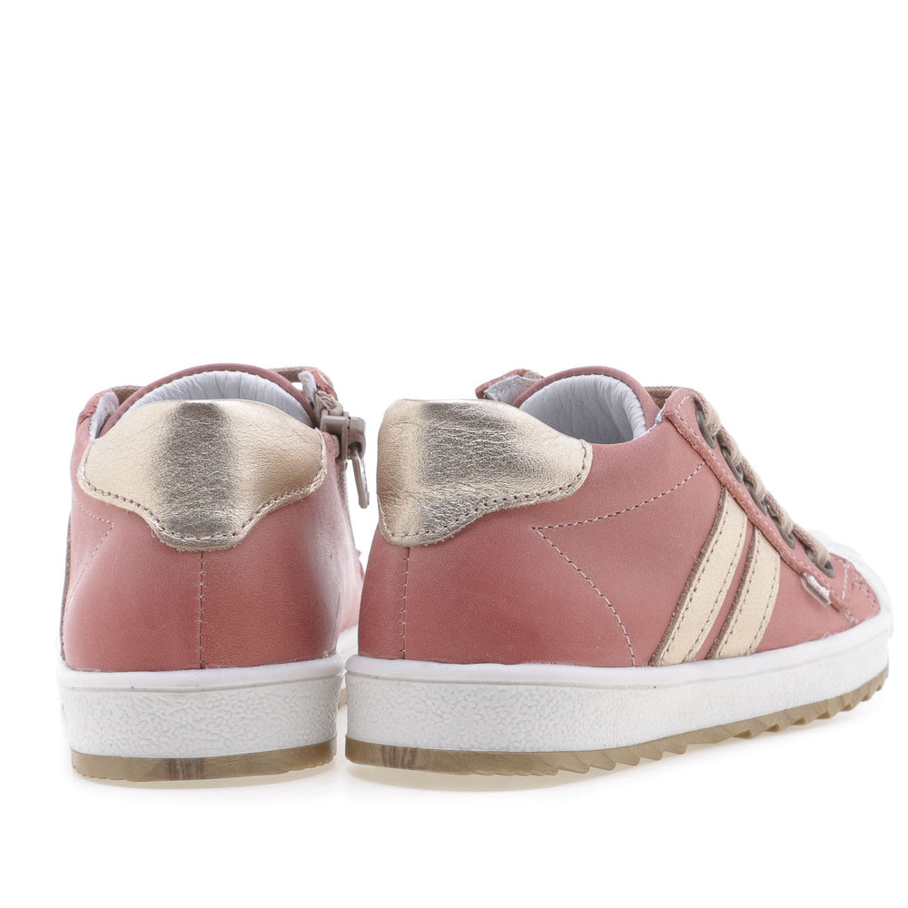 (2627A-23/2628A-23) Low Bumper Trainers coral with Zipper - MintMouse (Unicorner Concept Store)