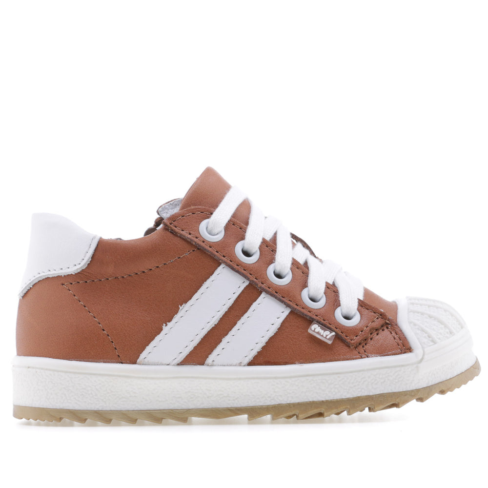 (2627A-25/2628A-25) Emel low trainers with bumper - brown - MintMouse (Unicorner Concept Store)
