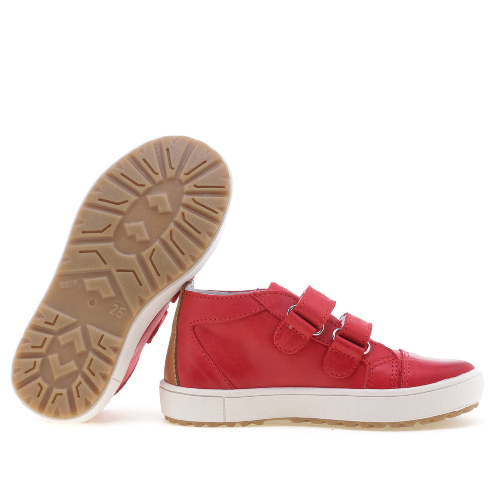 (2634-22) Low Velcro Trainers red - MintMouse (Unicorner Concept Store)