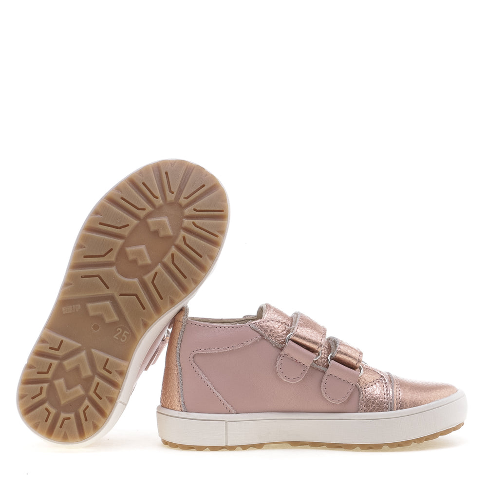 (2634-24) Low Velcro Trainers rose gold - MintMouse (Unicorner Concept Store)