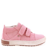 (2634B-6) Low Velcro Trainers pink