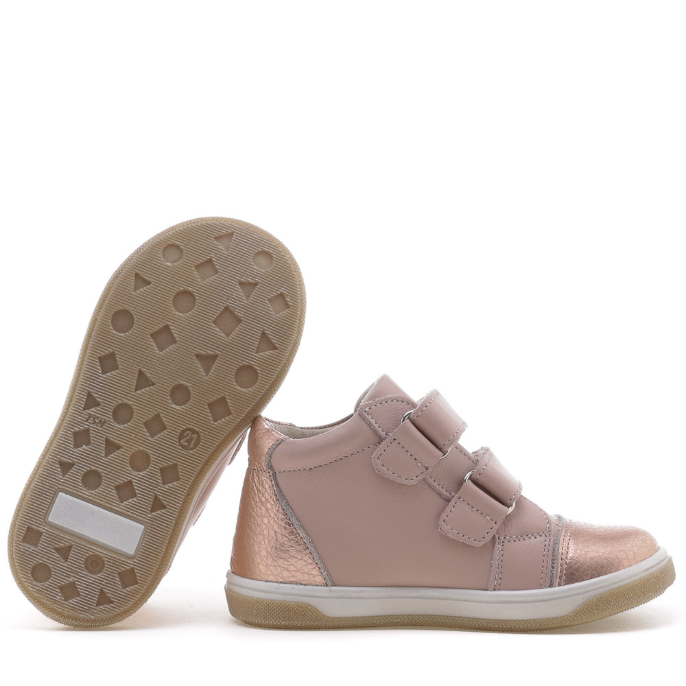 (2675-19) Emel shoes velcro trainers rose gold - MintMouse (Unicorner Concept Store)