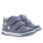 (2675A-2) Emel shoes velcro trainers stars - Coming soon!