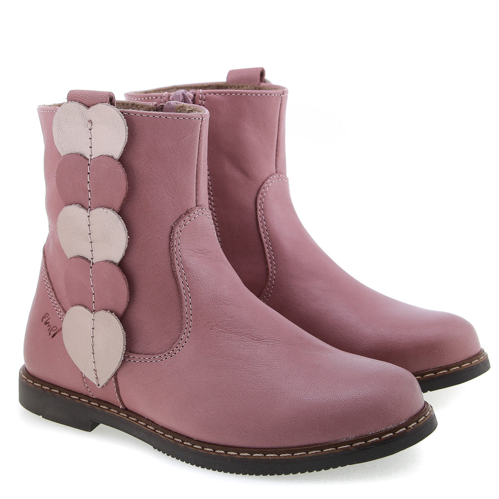 Emel winter boots hearts pink (2692-4)