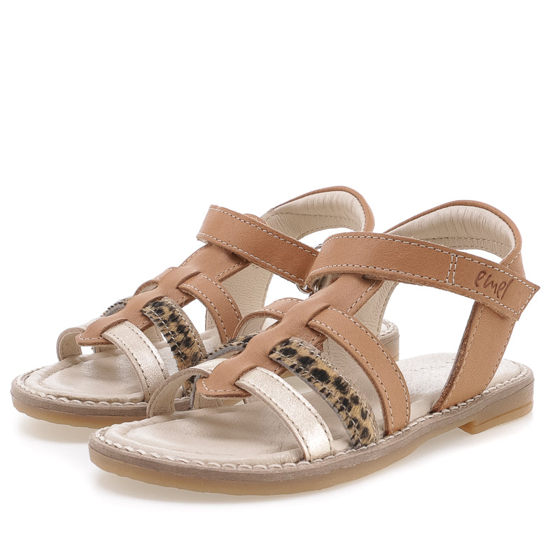 (2702-6) Emel  brown strap sandals  - Coming soon! - MintMouse (Unicorner Concept Store)