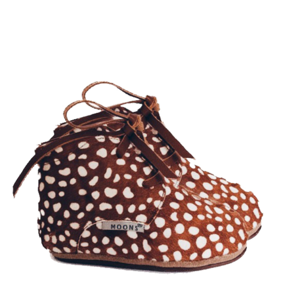 Ava booties - pre-walkers Fawn
