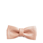 Hairclip leather bow - blush pink - MintMouse (Unicorner Concept Store)
