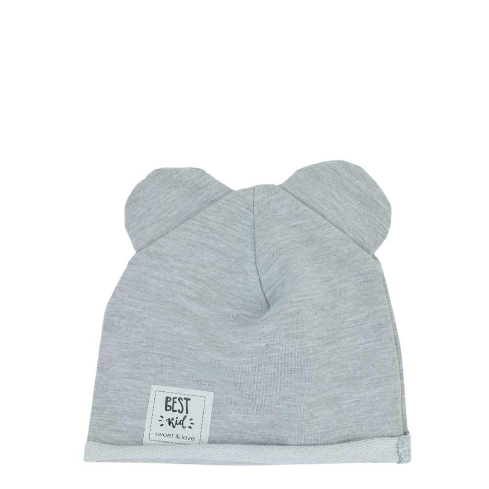 Bear hat light grey Hero