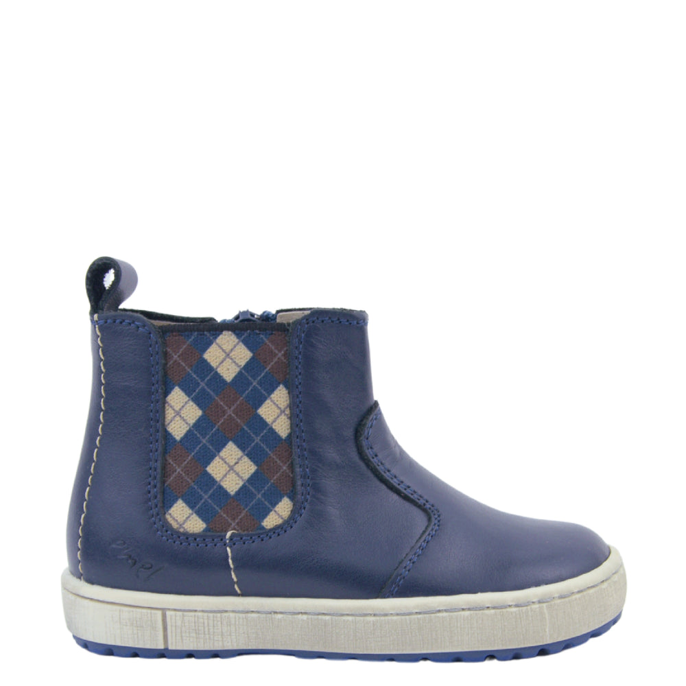 Emel blue autumn boots zipper (2620C-1)