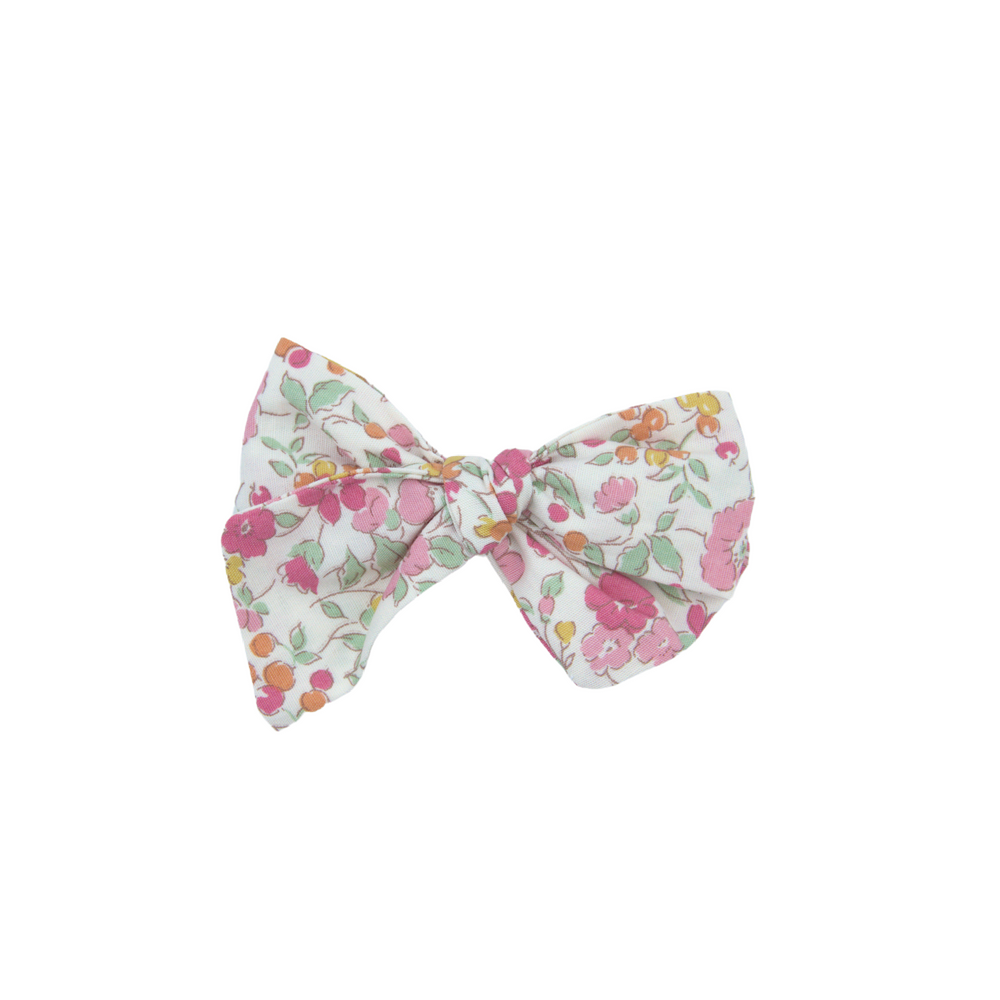 Hairclip bow - Petit garden flowers