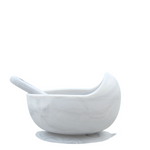 Silicone suction bowl - Marble