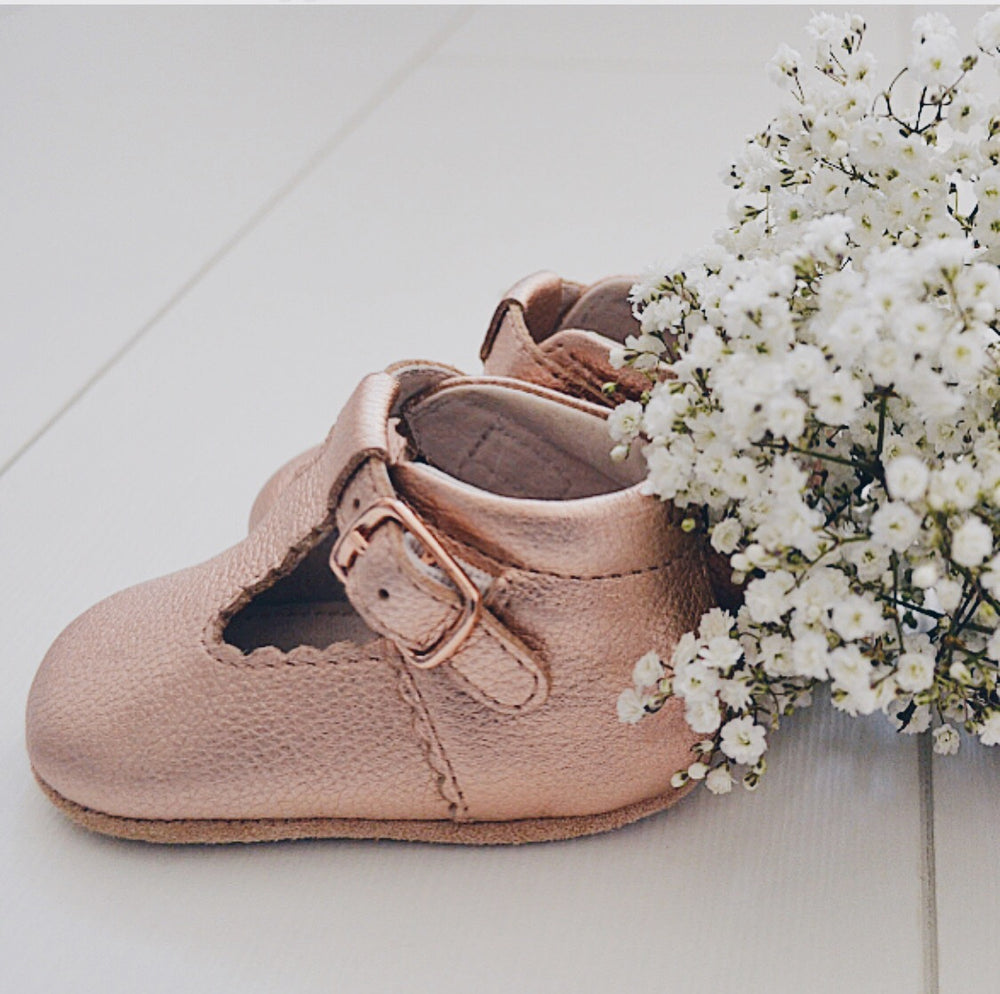 Lilly booties - pre-walkers rose gold - MintMouse (Unicorner Concept Store)