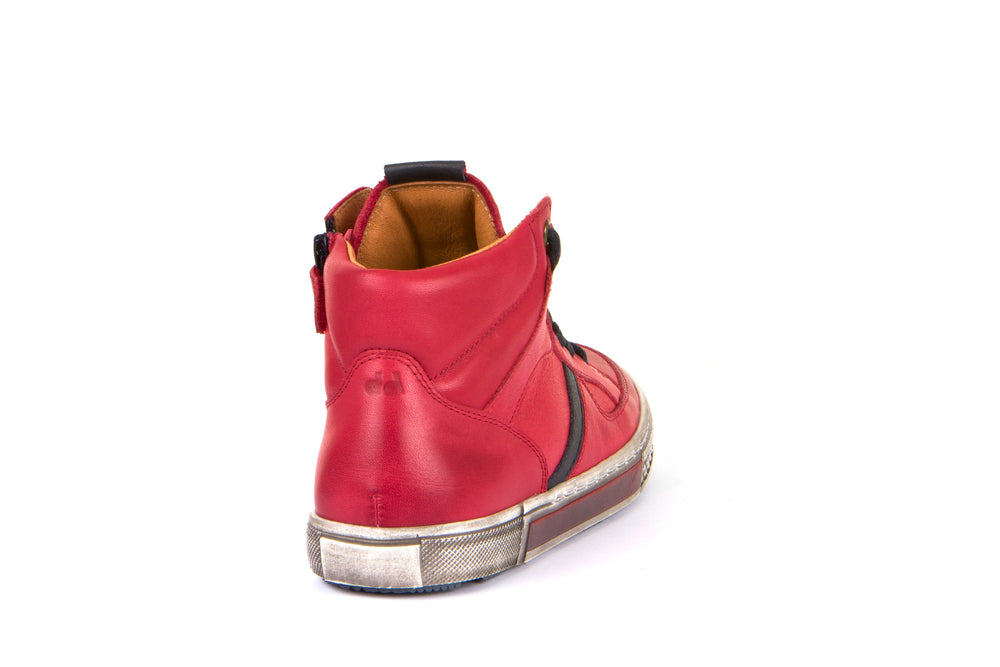 Froddo leather sneaker - red - MintMouse (Unicorner Concept Store)