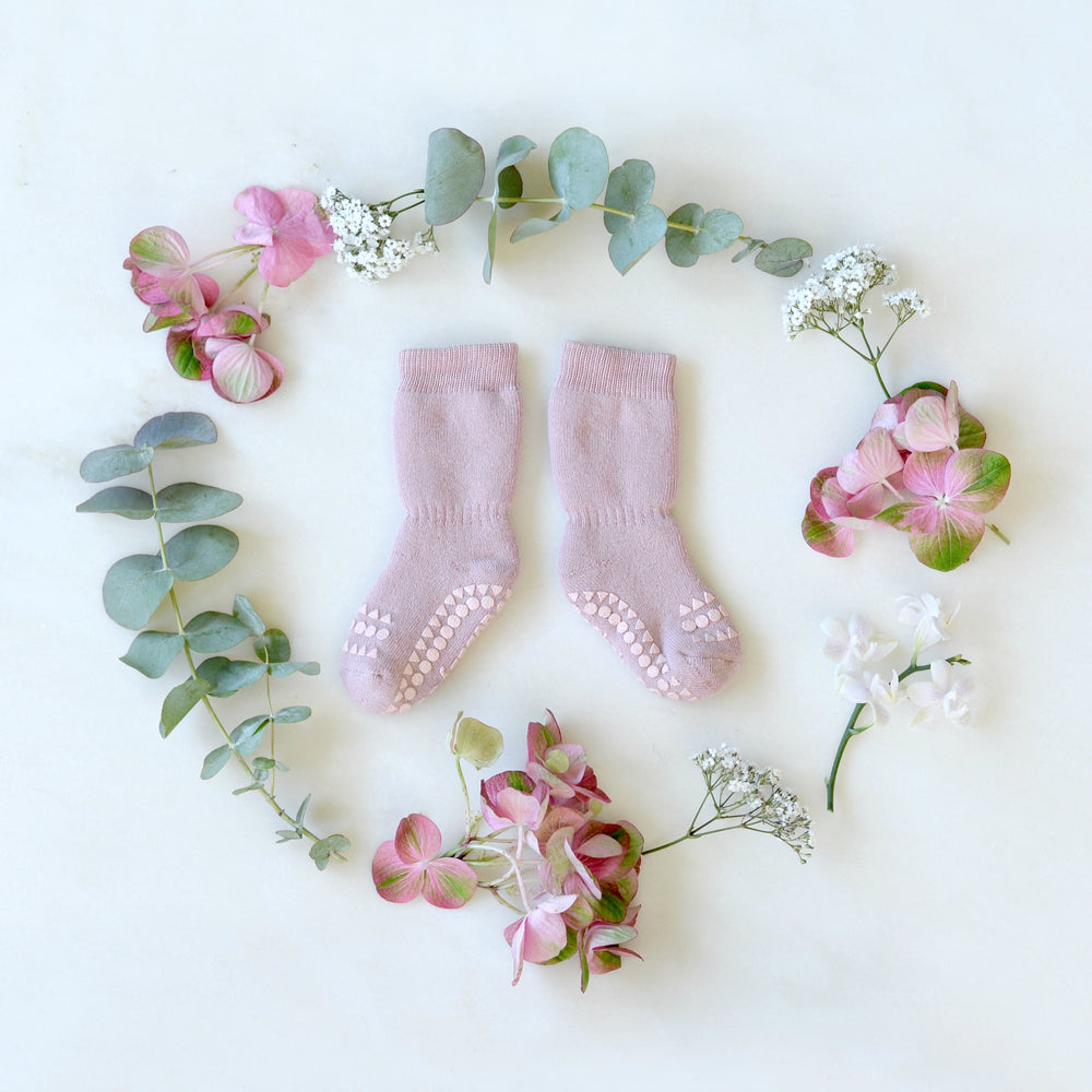 Anti-slip socks - Dusty Rose - MintMouse (Unicorner Concept Store)