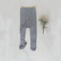 Crawling Tights - Grey Melange