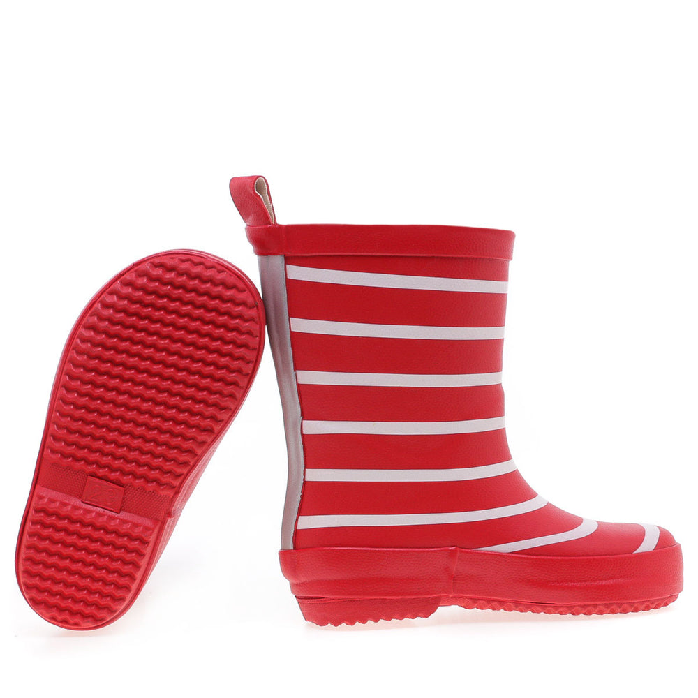 Emel rainboots red striped (K100-10) - MintMouse (Unicorner Concept Store)