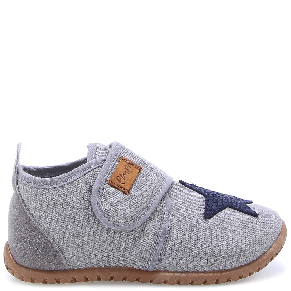 Emel slippers - Grey star (100-7)