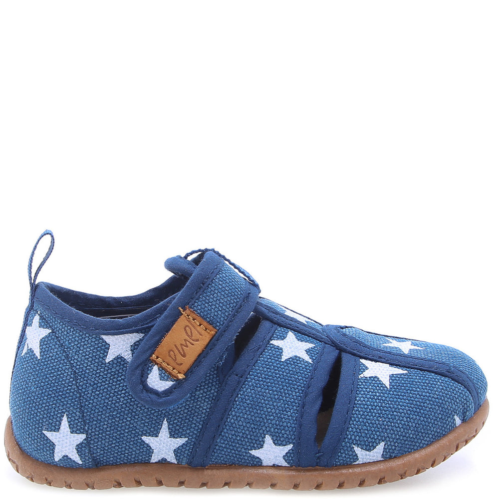 Emel slippers - Open Blue stars (101-1)