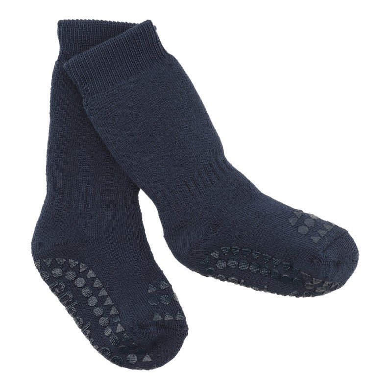 Anti-slip socks - Petrolium Blue