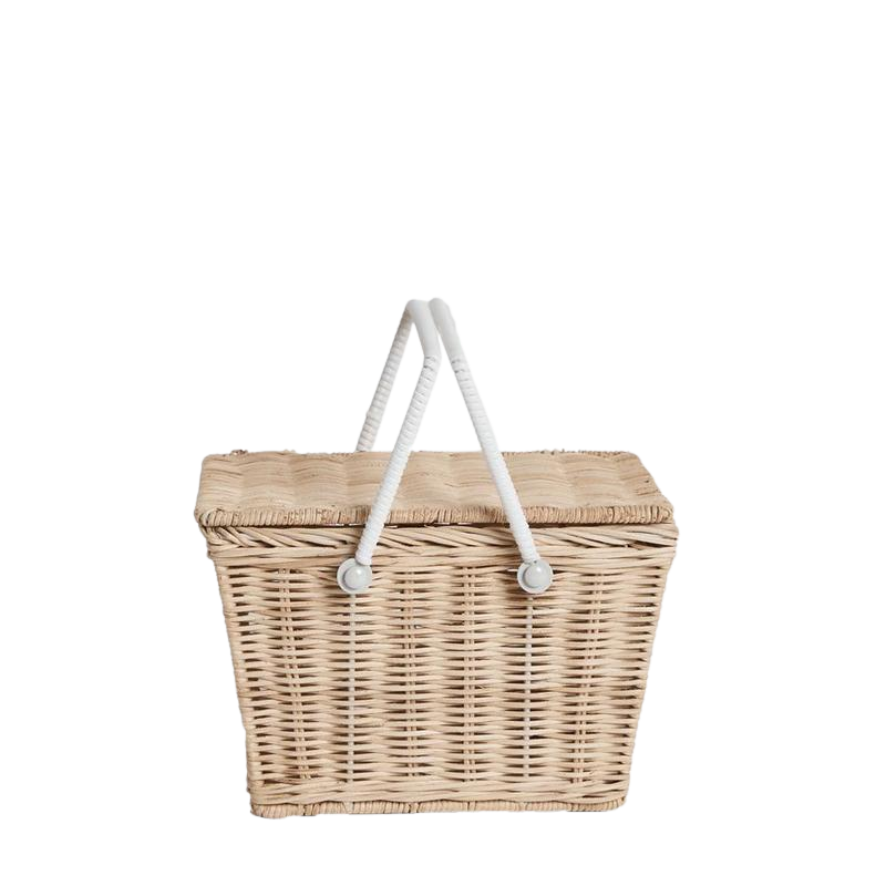 Piki basket Olliella - natural