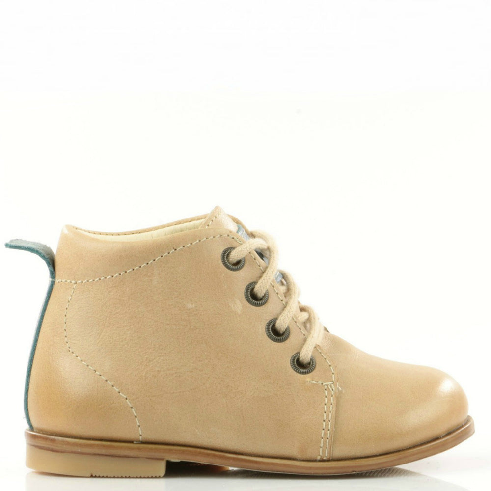 (1075-4) Emel beige classic first shoes