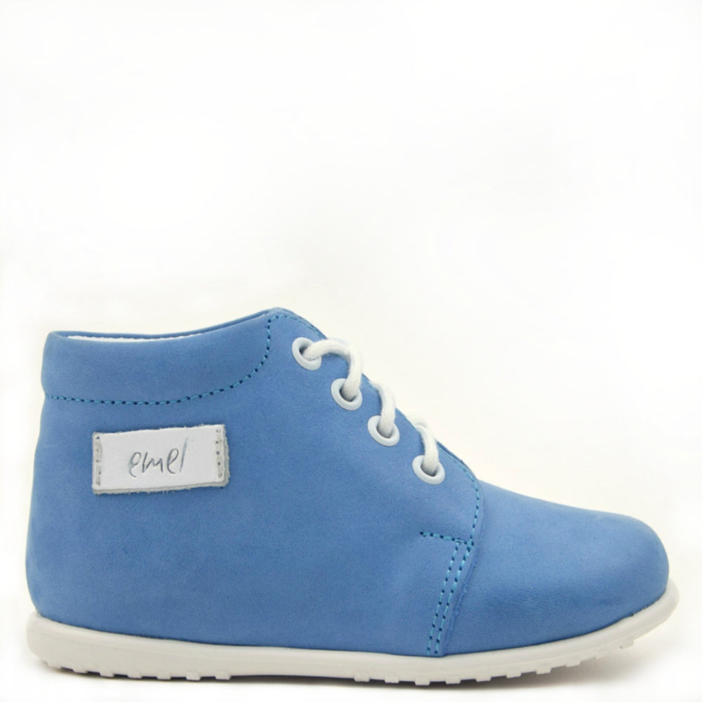 (2343-9) Emel Blue Lace Up Classics