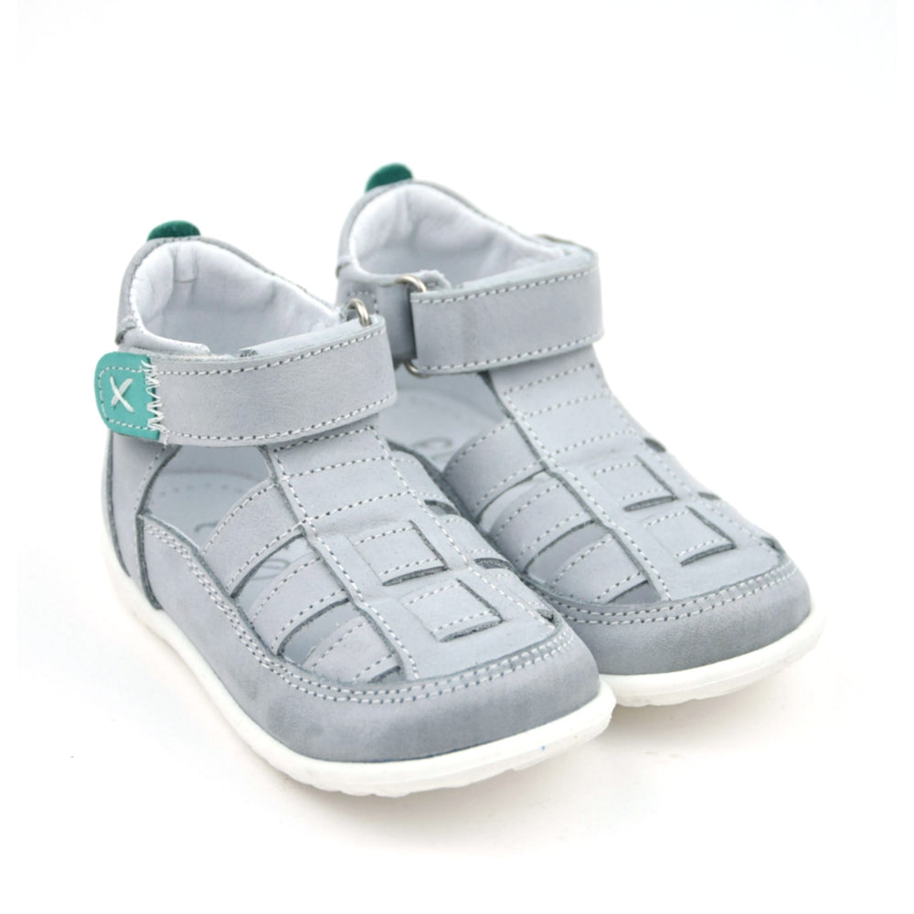 (1079-1) Emel grey closed sandals - MintMouse (Unicorner Concept Store)