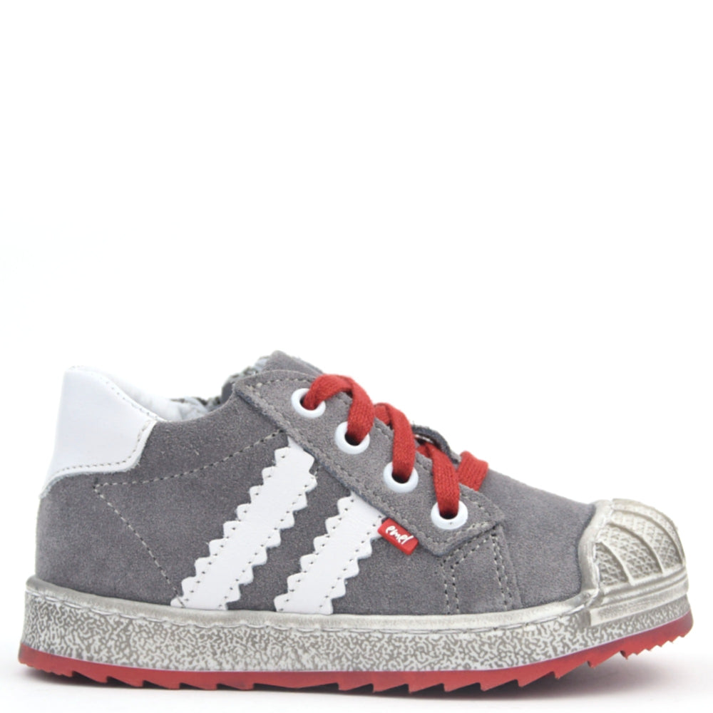 (2627-2) Low Bumper Trainers grey with Zipper - MintMouse (Unicorner Concept Store)