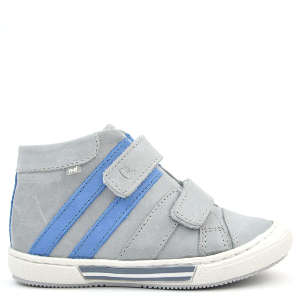 (1855-33) Emel grey Tennis with Velcro