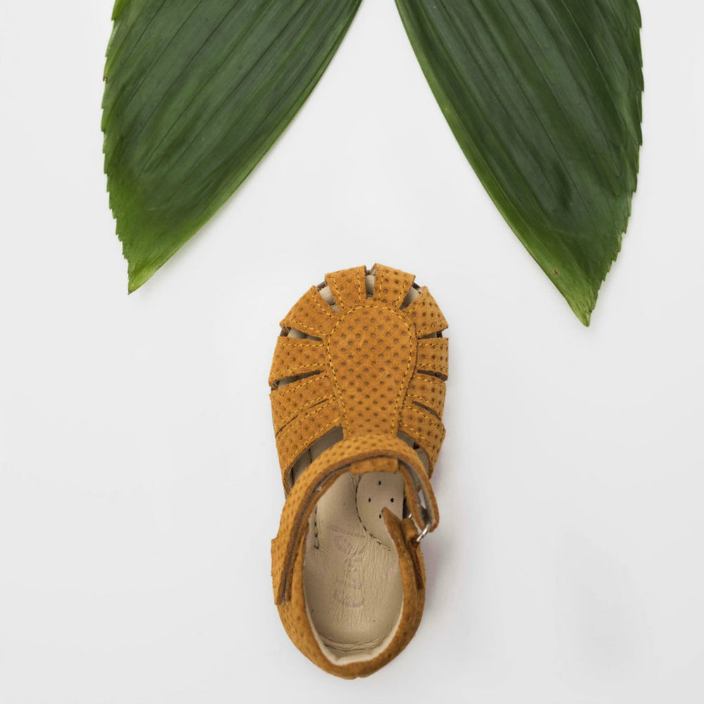 (1151B-1) Emel yellow closed sandals - Coming soon! - MintMouse (Unicorner Concept Store)